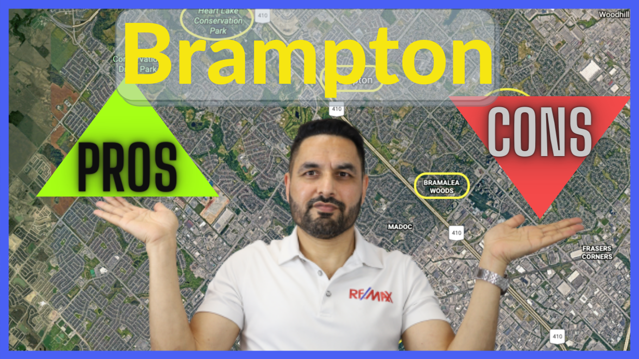 Pros and cons of living in Brampton Ontario