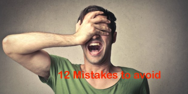 12 mistakes you should avoid when buying a house